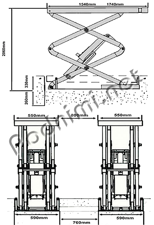 Схема подъемника f6105