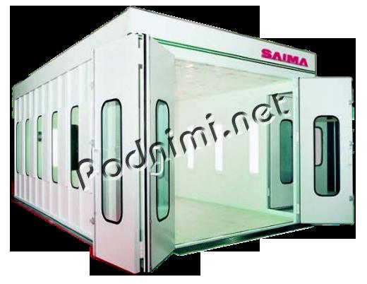 Покрасочная камера Saima