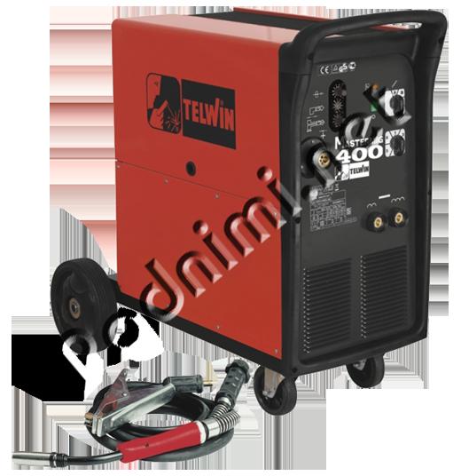 Сварочный полуавтомат Telwin MASTERMIG 400 Мобильный трехфазный сварочный полуавтомат с воздушным охлаждением для...